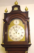 Mahogany 8 day Longcase Clock by Robert Sampson
