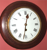 Oak 8 day Dial Clock