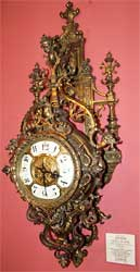 Very unusual Spanish Wall Clock
