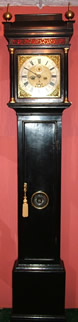 Ebonised 8 Day Longcase Clock By William Woster