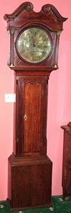 18th Century Oak 30 Hour Longcase Clock by George Bourn, Kirkby