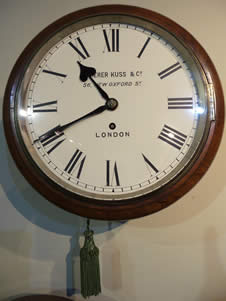 Fine quality late 19th century 8 Day Dial Clock